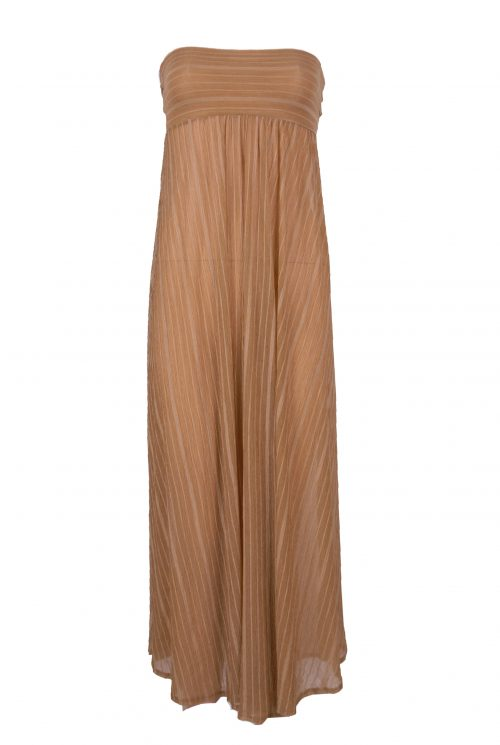 3 Piece Leopard Print Brown Bikini Set-2808