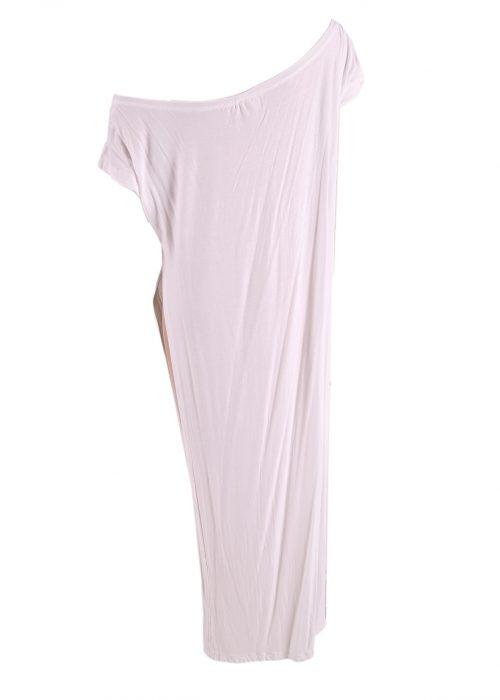 Split Dress Off Shoulder-5600