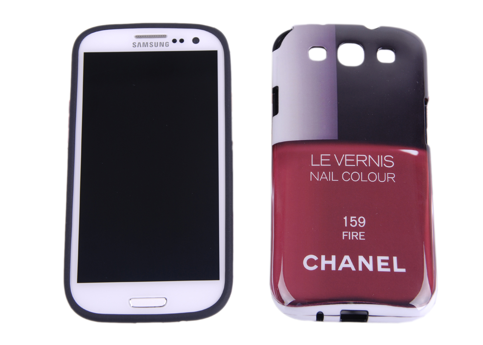 red chanel les vernis samsung s3 cover enigma shopping. Black Bedroom Furniture Sets. Home Design Ideas