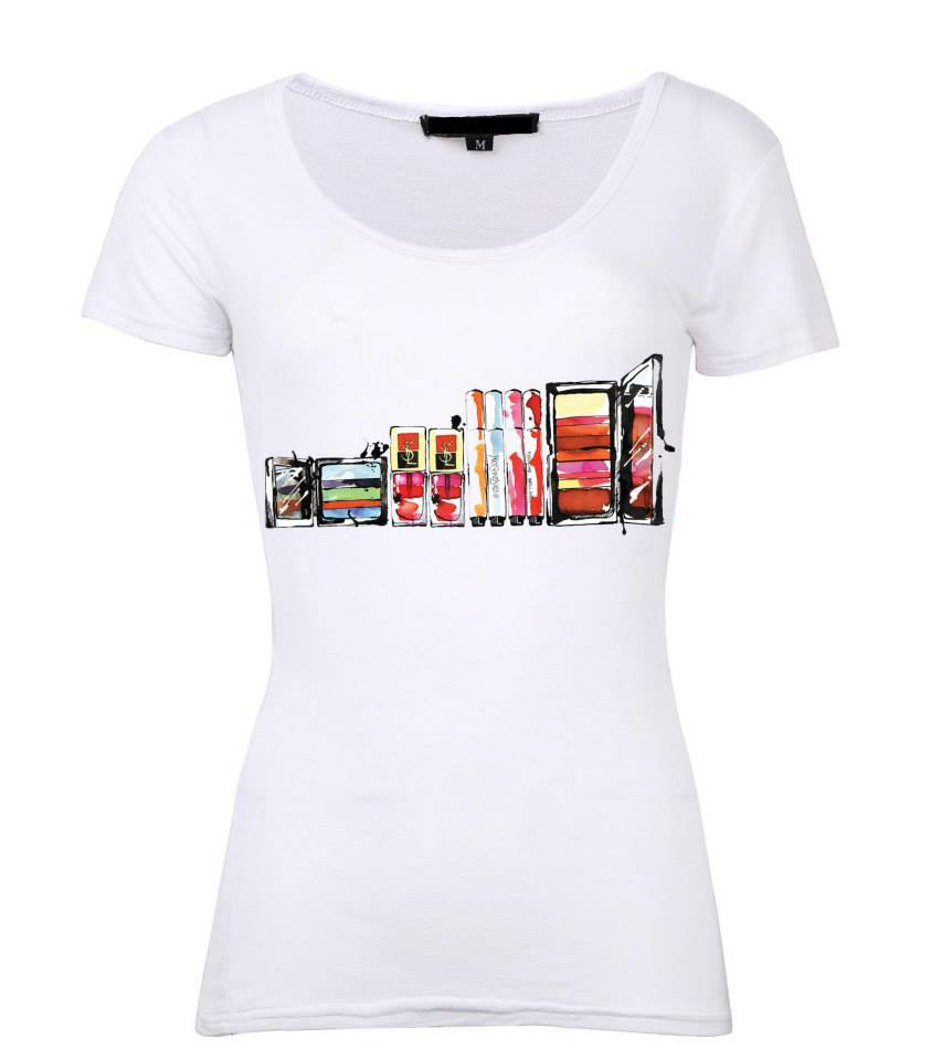 Ysl makeup t shirt enigma shopping for Who sells ysl t shirts